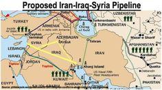 Risultati immagini per syria pipeline war