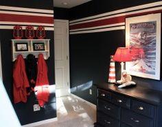 Wall paint, stripe