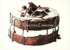 Chocolate cake by 19Frency94-Art.deviantart.com on @DeviantArt
