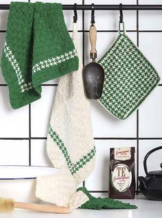 Diy Crochet And Knitting, Crochet Home, Knitting Projects, Knitting Patterns, Crochet Patterns, Stick O, Hot Pads, Pot Holders, Crochet Bikini