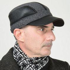 LL Thicken Warm Men and Women Sports Cap People Hat Winter Grandfather Cotton Cap Earmuffs Hat Winter