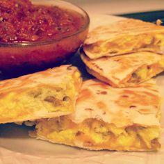Easy 15-Minute Breakfast Quesadillas