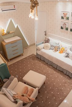 Baby Bedroom, Girls Bedroom, Room Baby, Fashion Room, Baby Boy Nurseries, Home Decor Furniture, Baby Decor, Interiores Design, Kids Room