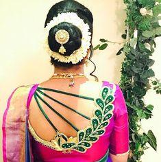 101 Stunning Saree Blouse Back Neck Designs Indian Blouse Designs, Blouse Back Neck Designs, Traditional Blouse Designs, Wedding Saree Blouse Designs, Simple Blouse Designs, Stylish Blouse Design, Best Blouse Designs, Traditional Fashion, Sari Design