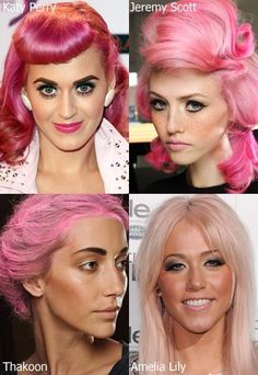 Four reasons to have pink hair...