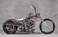 Custom Harley Bobber.