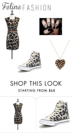 """""""Meow"""" by awseome-girl-5953 ❤ liked on Polyvore featuring TIBI, Converse and Kate Spade"""