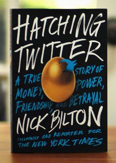 Hatching Twitter: A True Story of Money, Power, Friendship, and Betrayal by Nick Bilton -- I would recommend this book to anyone who has a twitter. Great read and interesting story!