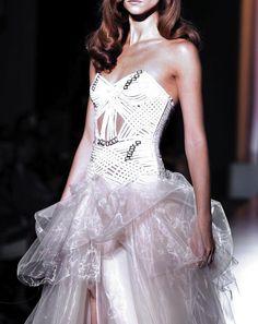 Atelier Versace Fall/Winter 2012-2013 Donatella Versace finally...