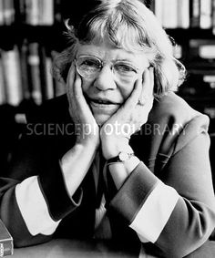 Margaret Mead, US anthropologist - Stock Image H413/0314 - Science ...