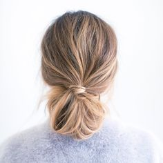 Loose Ponytail, Knot Ponytail, Messy Low Ponytails, Too Knot Bun, Messy Chignon, Messy Braids, Hair Ponytail, Faux Chignon, Pony Hair