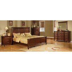 Hawthorne 5-piece Dark Brown Bedroom Set | Overstock.com Shopping - The Best Deals on Bedroom Sets