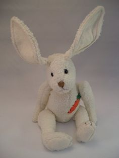 "Carrot Top 9"" White Bunny Rabbit GUND https://www.amazon.com/dp/B00U0IR5RI/ref=cm_sw_r_pi_dp_x_k12Jyb7N2KDR9"