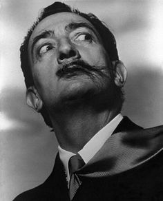 "essentialisinvisible: "" Salvador Dali (1954) by Philippe Halsman """