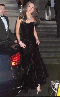 Kate Middleton in Alexander McQueen