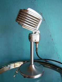Vintage Rare 1940'S Turner S34X Microphone Deco OLD Antique Midcentury W Cable 5…