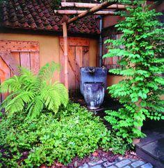 Meneer Vermeer Tuinen, koloniale tuin