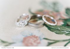 Engagement and wedding rings | Photographer: @louisevorster  | Engagement and Wedding Rings: Vienna Juwellers Brooklyn |