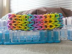 Brand New Pattern Multicolor Double Braid by RainbowLoomLover