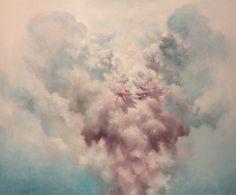 Maailma muodostuu-World forming 2012  Samuli Heimonen. Acrylic and oil on canvas