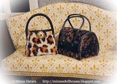 Minna's Miniatures Miniatures, Blog, Pattern, Animal Prints, Patterns, Blogging, Model, Minis, Swatch