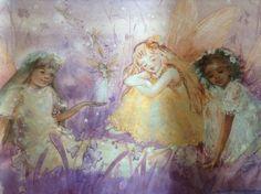 Fairy Princess Wallpaper Border 10 Yards Multi-Ethnic Magical  #BrewsterWallpaperCompany