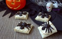 Antipasti ragno di Halloween
