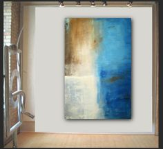 Extra large abstract painting modern art by by Elsisygallery, $199.00