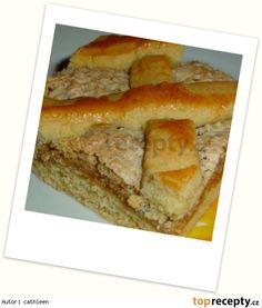 Nedělní mřížkový koláč Oreo Cupcakes, Sweet Recipes, Banana Bread, Food, Coffee, Fine Dining, Kaffee, Essen, Cup Of Coffee