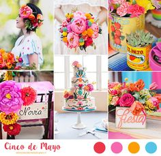 Cinco de Mayo wedding inspiration http://weddingwonderland.it/2016/05/matrimonio-ispirazione-messicana.html