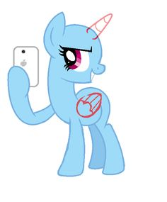 pony selfie base 2 by tanianoemi.deviantart.com on @deviantART