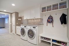 Construindo Minha Casa Clean: 35 Lavanderias Decoradas com Pastilhas e Adesivos!
