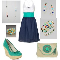 Sundress..., created by rkimball on Polyvore