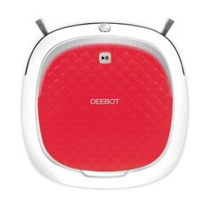"""Get rid of your broom and let a robot do the work with Ecovacs Robotics DEEBOT D35 Bare-Floor Vacuuming Robot. """"Direct Suction"""" never tangles, Dual Sweeper Side Brushes clean from both sides and flexible time-scheduling let's you set cleaning around your busy schedule. Smart robotics for the home has now become affordable!"""