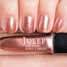 Julep - Natalia (Boho Glam): Refined copper metallic