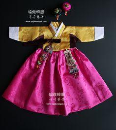 환영합니다 Korean Traditional Dress, Traditional Fashion, Traditional Dresses, Korean Hanbok, Korean Dress, Paper Doll Costume, Lolita Dress, My Princess, Kids Wear