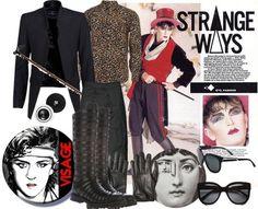 Steve Strange inspired outfit <3 Steve Strange, 70s Glam Rock, Leigh Bowery, Stranger Things Steve, Marc Bolan, Cyndi Lauper, Strange Photos, New Romantics, Boy George