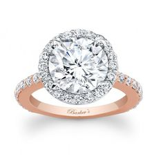 Rose Gold Engagement Ring #engagementrings #engagement #engagementjewelry