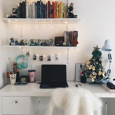 Ja é natal no Home Office! ✨@apartamento.405
