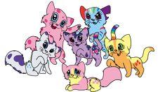 My Little Cat | My Little Ponies as Cats by allissajoanne4