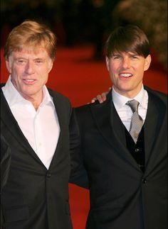 Robert Redford & Tom Cruise