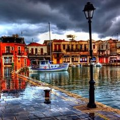 regram @goodlife_holiday Good rainy morning to everyone from Rethymno Crete! Have a great weekend! #rethymno #crete #greece #island #sky #clouds #rain #house #port #winter #weekend #saturday #morning #vacation #holiday #dream #love #life #colours #red #blue #white #nature #amazing #beautiful #thessaloniki #halkidiki #mykonos #santorini by giannis_d_lem