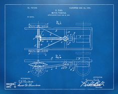 1903-henry-ford-model-t-patent-blueprint-nikki-marie-smith.jpg (900×720)