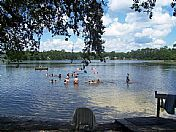 Ocala, Florida - Lake Waldena in the Ocala National Forest. The kids and I spent every weekend for years frolicking in this lake.