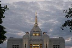 Sapporo Japan LDS (Mormon) Temple Construction Photographs