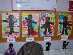 Couvertures et étiquettes - Etiquettes… - Etiquettes de… - Affichage de porte… - Affiche de porte :… - Bandes verticales… - Rouleaux à motifs… - Empreintes de… - Les pantins - Couvertures de… - Couvertures de… - Des Arts Visuels à lécole maternelle