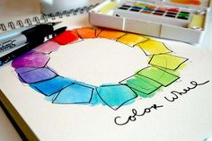 fun palette exercise:  Alisa Burke's Color Your World class