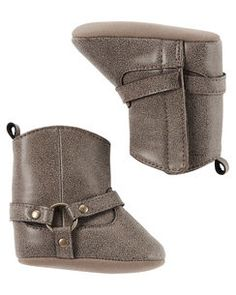 Carter's Riding Boot Crib Shoes