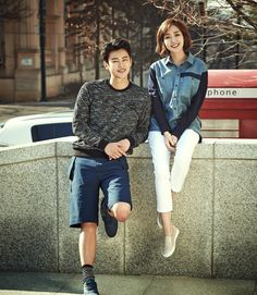 Park Min Young and Seo In Guk