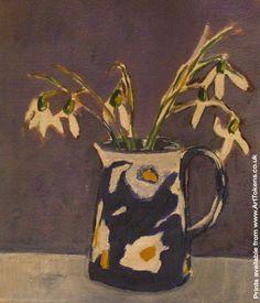 Snowdrops - Giclee Print by Scottish Artist Irene McCann